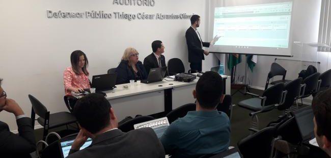Defensoria Pública treina Gestores para implementação do planejamento estratégico